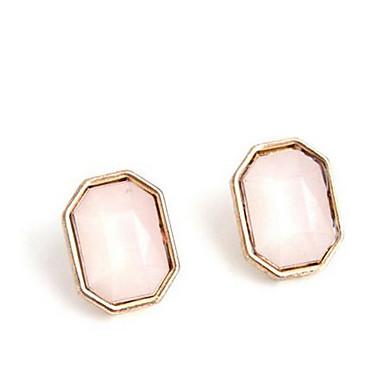 Damla Küpeler Çoklu Taşlar Sallantılı Stil Moda Euramerican Değerli Taş Şeker Pembesi Mücevher Için Düğün Parti Özel Anlar 1 çift