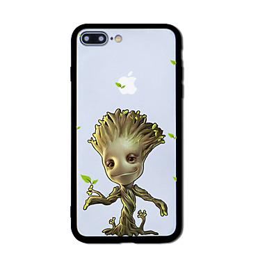 Maska Pentru Apple iPhone X iPhone 8 Model Carcasă Spate Copac Greu Acrilic pentru iPhone X iPhone 8 Plus iPhone 8 iPhone 7 Plus iPhone 7