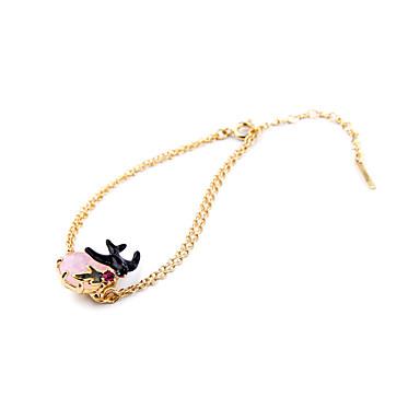 Damskie Bransoletki i łańcuszki na rękę Modny Stop Animal Shape Biżuteria Na Specjalne okazje Prezenty bożonarodzeniowe 1szt