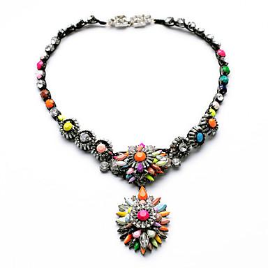 Γυναικεία Κρεμαστά Κολιέ Flower Shape Μοναδικό Εξατομικευόμενο Κοσμήματα Για Causal