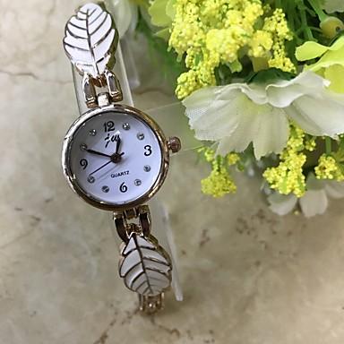 Damen Armband-Uhr Simulierter Diamant Uhr Modeuhr Armbanduhr Chinesisch Quartz / Imitation Diamant Legierung Band Freizeit Rotgold