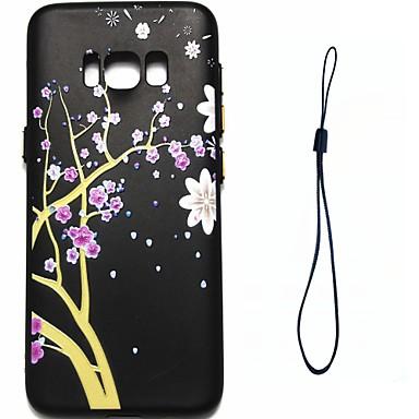 hoesje Voor Samsung Galaxy S8 Plus S8 Beplating Patroon Achterkantje Bloem Zacht TPU voor S8 S8 Plus S7 edge S7 S6 edge S6 S5