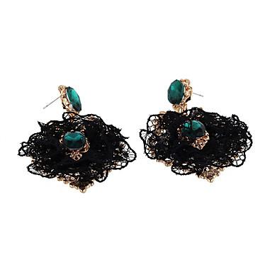 Cercei Set Cristal La modă Personalizat Euramerican Aliaj Negru Bijuterii Pentru Nuntă Petrecere Zi de Naștere 1 pereche
