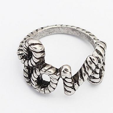 Dames Bandringen Ring Sieraden Gepersonaliseerde Uniek ontwerp Logostijl Klassiek Vintage Bohémien Standaard Euramerican Doe-het-zelf