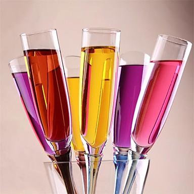 زجاج النبيذ أكريليك,4*4*40 خمر إكسسوارات