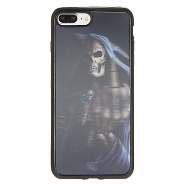 Na Wzór Kılıf Etui na tył Kılıf Czaszka Miękkie TPU na Apple iPhone 7 Plus iPhone 7 iPhone 6s Plus iPhone 6 Plus iPhone 6s iphone 6