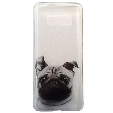 Etui Käyttötarkoitus Samsung Galaxy S8 Plus S8 IMD Läpinäkyvä Kuvio Takakuori Koira Pehmeä TPU varten S8 S8 Plus