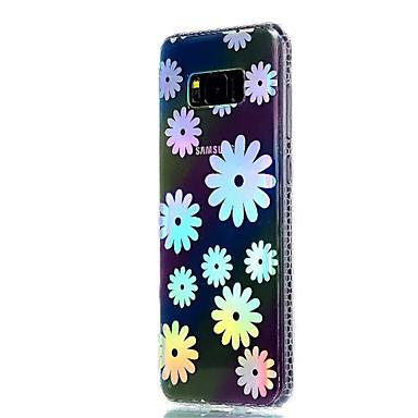 hoesje Voor Samsung Galaxy S8 Plus S8 Beplating Doorzichtig Patroon Achterkant Bloem Zacht TPU voor S8 Plus S8 S7 edge S7