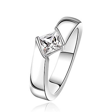 للمرأة خاتم مكعب زركونيا مخصص هندسي تصميم فريد كلاسيكي قديم حجر الراين بوهيميان أساسي الصداقة بانغك بديع هيب هوب اسلوب لطيف euramerican