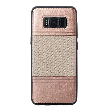 Maska Pentru Samsung Galaxy S8 Plus S8 Placare Embosat Model Carcasă Spate Linii / Valuri Moale TPU pentru S8 S8 Plus S7 edge S7 S6 edge