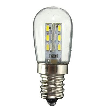 2W E11 مصابيح كروية LED 24 المصابيح SMD 3014 ديكور أبيض دافئ أبيض 130lm 2800-3200/6000-6500K AC110 AC220V