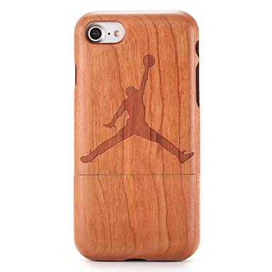 Için Kılıflar Kapaklar Temalı Süslü Arka Kılıf Pouzdro Ağaç Damarları Karikatür Sert Ahşap için AppleiPhone 7 Plus iPhone 7 iPhone 6s
