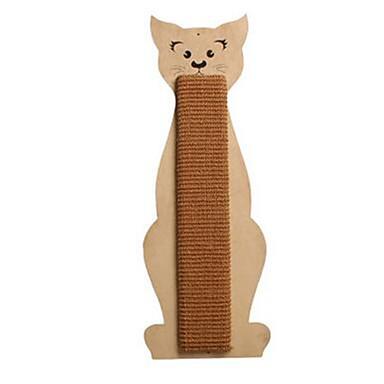 Pisici Jucărie Pisică Jucării Animale Interactiv Scratch Pad Sisal Pentru animale de companie