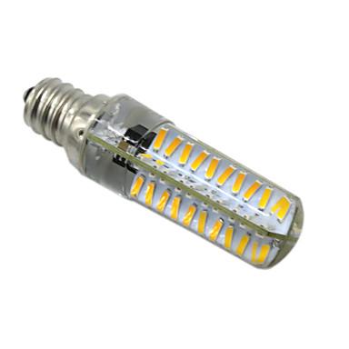 HKV 5W 400-500 lm E14 E12 E17 BA15D أضواء LED Bi Pin T 80 الأضواء مصلحة الارصاد الجوية 4014 تخفيت أبيض دافئ أبيض كول أس 220-240V