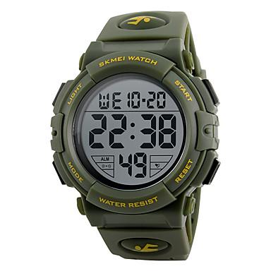 b7da8f7a9e1c abordables Relojes de Hombre-SKMEI Hombre Reloj Deportivo Reloj Militar  Reloj de Pulsera Japonés Silicona