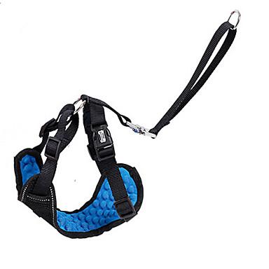 Câine Hamuri Scaun Mașină Câini/ Echipament Siguranță Câini Ajustabile / Retractabil Respirabil Siguranță Antrenament Alergat Mată
