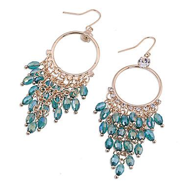 Küpe Set Kristal Çok güzel Kişiselleştirilmiş sevimli Stil Euramerican alaşım Altın Siyah Yeşil Mücevher Için Düğün Parti 1 çift