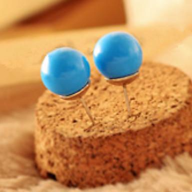 Heren Dames Oorknopjes Druppel oorbellen Sieraden Gepersonaliseerde Meetkundig Cirkelvormig ontwerp Uniek ontwerp Klassiek Vintage