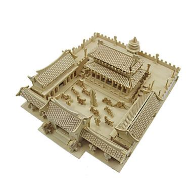 3D - Puzzle Holzmodell Modellbausätze Spielzeuge Shaolin tempel Holz Unisex Stücke
