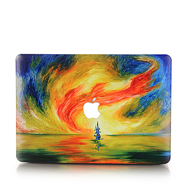 MacBook Herbst für MacBook Ölgemälde Polycarbonat Stoff