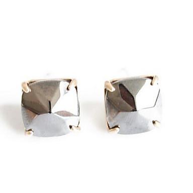 Damla Küpeler imitasyon Pırlanta Sallantılı Stil Moda Euramerican Zirkon Gümüş Mücevher Için Düğün Parti Özel Anlar 1 çift