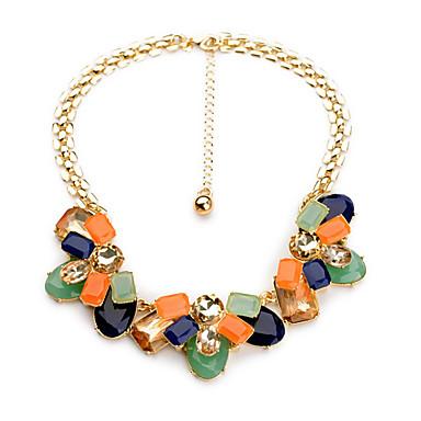 Pentru femei Toroane Coliere Flower Shape Personalizat bijuterii de lux Curcubeu Bijuterii Pentru Nuntă 1 buc