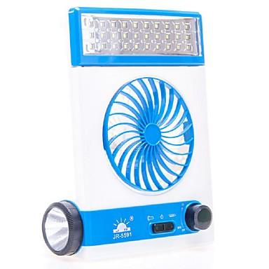 جديد متعددة الوظائف أدى مكتب مصباح مصغرة مروحة أوسب الشمسية قابلة مروحة التخييم مصباح