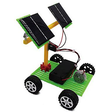 Eğitici Oyuncak Oyuncaklar Kamyon Güneş Enerjisi ile çalışır Elektrik Kendin-Yap Genç Kız Genç Erkek Hediye