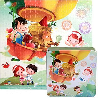 Legpuzzels Legpuzzel Bouw blokken DHZ-speelgoed Vierkant Hout Ontspannende hobby's