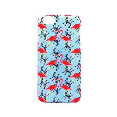tok Για Apple Παγωμένη Ανάγλυφη Με σχέδια Πίσω Κάλυμμα Φοινικόπτερος Σκληρή PC για iPhone 7 Plus iPhone 7 iPhone 6s Plus iPhone 6 Plus