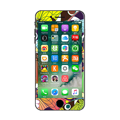 1 parça Deri Etiket için iPhone 7 Plus iPhone 7 iPhone 6s Plus/6 Plus iPhone 6s/6 iPhone SE/5s/5 iPhone 5 iPhone 4/4s Çizilmeye Dayanıklı