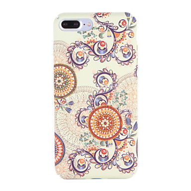 Hülle Für Apple iPhone 7 Plus iPhone 7 Muster Rückseite Mandala Hart PC für iPhone 7 Plus iPhone 7 iPhone 6s Plus iPhone 6s iPhone 6 Plus