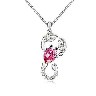 Kadın's Uçlu Kolyeler Mücevher Mücevher Sentetik Taşlar alaşım Eşsiz Tasarım sevimli Stil Mücevher Uyumluluk Parti Günlük