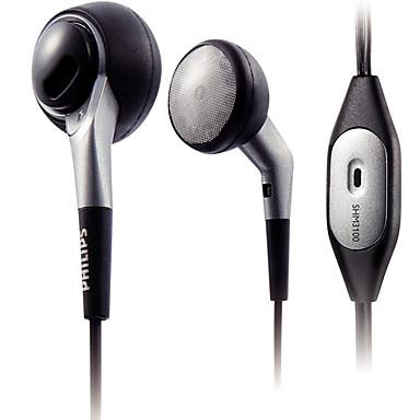 ل الهاتف المحمول الكمبيوتر المحمول في الأذن السلكية البلاستيك 3.5 ملليمتر مع ميكروفون الضوضاء إلغاء