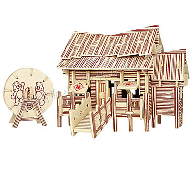 3D - Puzzle Holzmodell Modellbausätze Spielzeuge Berühmte Gebäude Holz Unisex Stücke