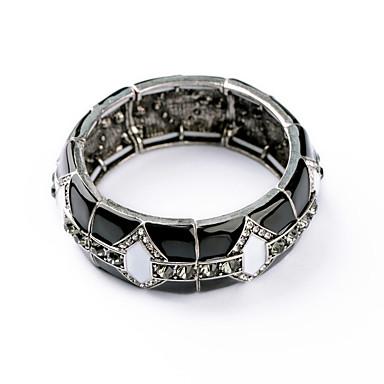Kadın's Bilezikler Mücevher Arkadaşlık Moda alaşım Round Shape Mücevher Uyumluluk Doğumgünü