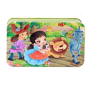 تركيب ألعاب مربع خشب للأطفال قطع
