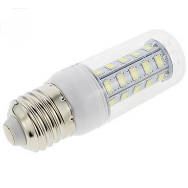 E26/E27 Becuri LED Corn 36 LED-uri SMD 5730 Alb Rece 200-300lm 3000/6500K AC 220-240V