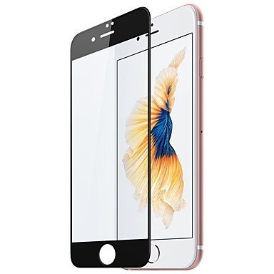Voor apple iphone 7 plus front screen protector gehard glas full-screen staal film zwart