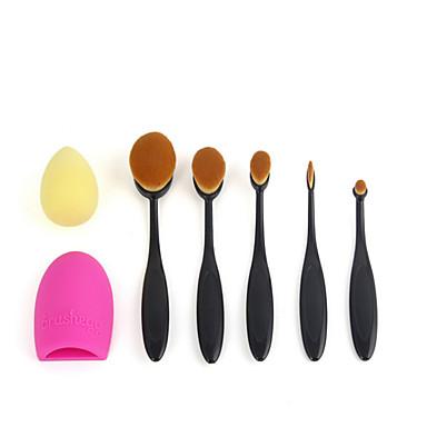 1set Seturi perie Perie Blush Perie  Fard Pensule Tuș Perie Corector Perie Fond Păr sintetic Acoperire Integrală Resin Bărbați Femei
