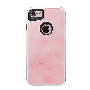 Hülle Für Apple iPhone 7 Plus iPhone 7 Stoßresistent Muster Rückseite Marmor Hart PC für iPhone 7 Plus iPhone 7 iPhone 6s Plus iPhone 6s