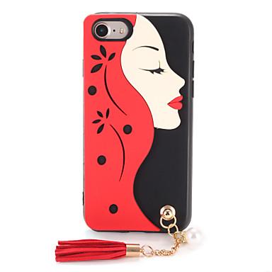 Για Θήκες Καλύμματα Με σχέδια Φτιάξτο Μόνος Σου Πίσω Κάλυμμα tok Σέξι κυρία Μαλακή TPU για AppleiPhone 7 Plus iPhone 7 iPhone 6s Plus