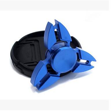 Fidget Spinners Przędzarka ręczna Zabawki Tri-Spinner Stres i niepokój Relief Zabawki biurkowe Za czas zabicia Focus Toy Zwalnia ADD,