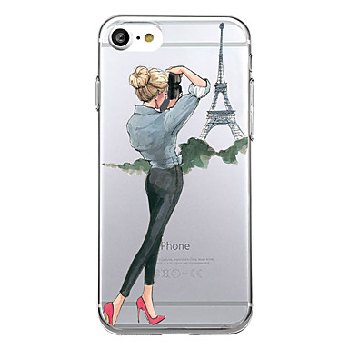 Coque Pour Apple iPhone X iPhone 8 Ultrafine Motif Coque Femme Sexy Flexible TPU pour iPhone X iPhone 8 Plus iPhone 8 iPhone 7 Plus
