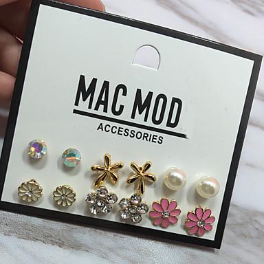 Pentru femei Zirconiu Cubic De Bază Multi-moduri Wear Aliaj Minge Inimă Bijuterii Cadouri de Crăciun Nuntă Petrecere Ocazie specială