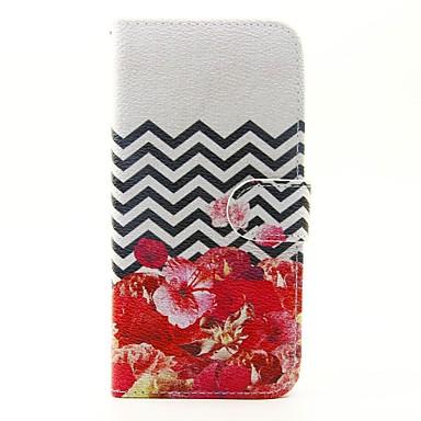 Etui Käyttötarkoitus Samsung Galaxy A5(2016) A3(2016) Lomapkko Korttikotelo Tuella Flip Kokonaan peittävä Kukka Kova PU-nahka varten