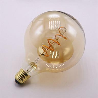 4W E27 Bec Filet LED 1 led-uri COB Decorativ Alb Cald 400lm 2300K AC 220-240V