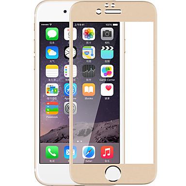 Voor iphone 7 full screen bedekt met titanium legering gehard glas film film
