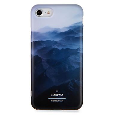 Voor apple iphone 7 7plus case cover patroon back cover case landschap soft tpu 6s plus 6 plus 6s 6