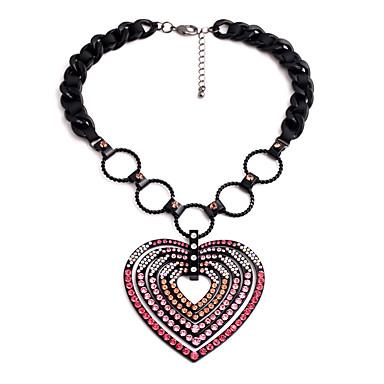 للمرأة قلب مخصص تصميم فريد قلائد الحلي كروم قلائد الحلي ، هدية الأماكن المفتوحة